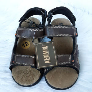 Khombu sandals little boy size 12